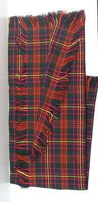 Cameron Ancient Tartan Fly Plaid Fringed From All Sides. 08oz.