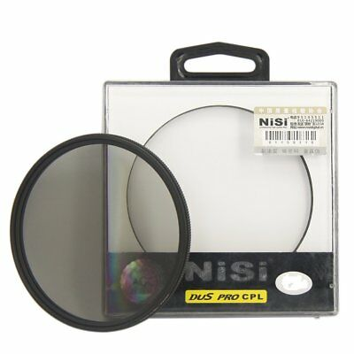 NiSi 55mm Ultra Slim Pro CPL AGC Optical Glass Circular Polarizer Lens Filter