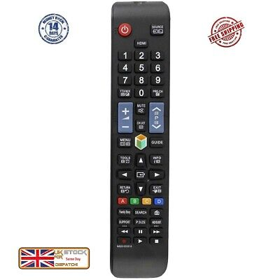 *New* Replacement Remote Control For Samsung 3D SMART TV WORKS 2008 -2016 MODELS