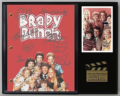 The Brady Bunch - Autograph Reprint Television Script Display - USA Ships Free