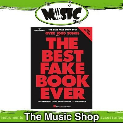 New The Best Fake Book Ever Music Songbook for 'C' Instruments - 4th Edition