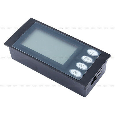 AC Digital LED power meter monitor Voltage KWh time watt energy Volt Ammeter