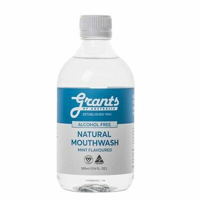Grants Xylitol Natural Mouthwash (500ml)BRAND NEW