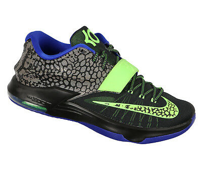 lowest price 43ae4 a142d NIKE KD 7 Basketball Shoes sz 13 Electric Eel Edition Black Green Purple VII
