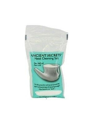 Nasal Cleansing Salt Bag, Ancient Secrets, 8 oz