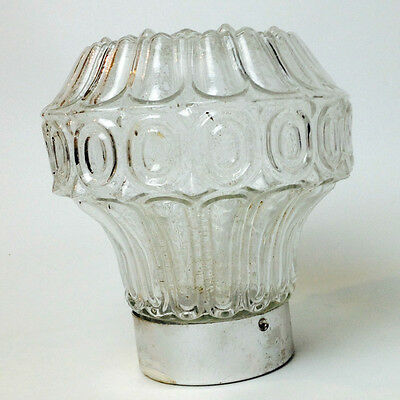Vintage Retro Glass Ceiling Light Fitting