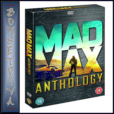 Mad Max Anthology - All 4 Movies Plus Documentary  ** Brand New Dvd Boxset***
