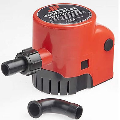 POMPE DE CALE AUTOMATIQUE ULTIMA 12V 1000 GPH JOHNSON PUMP 64L/min