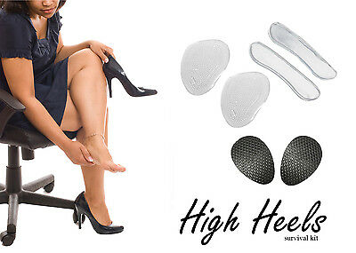 6 in 1 ANTI SLIP PAD INSOLES SHOES HIGH HEEL ORTHOPEDIC FEET FOOT COMFORT