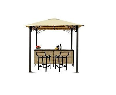 CANOPY ONLY for The Range Rome Barzebo 2.4m x 2.4m Single Tier Patio Gazebo