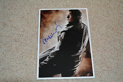 SAM WORTHINGTON signed Autogramm 20x30 cm In Person TERMINATOR