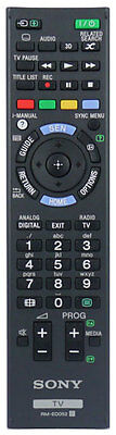 *New* Sony RM-ED052 / RMED052 100% Genuine TV Remote Control