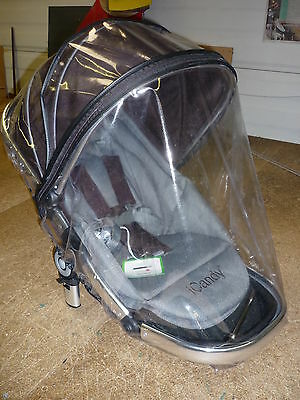 New Raincover to fit ICandy Peach Pushchair - Zipped Top Quality Raincover