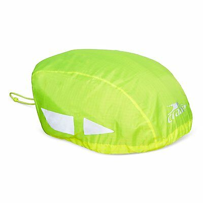 High Visibility Waterproof Bicycle Cycle Helmet Rain Cover YELLOW Top Choice 717