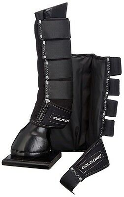 ColdOne Compression Ice Therapy Leg Wraps/Boots Tendon/Healing/Eventing/Cooling