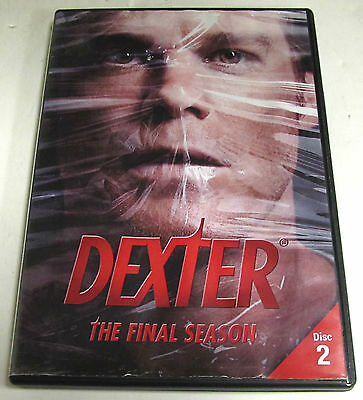 Dexter The Final Season DVD Replacement Disc 2 Only