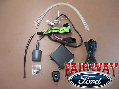 15 thru 17 Edge OEM Genuine Ford Parts Remote Start & Security System Kit - NEW
