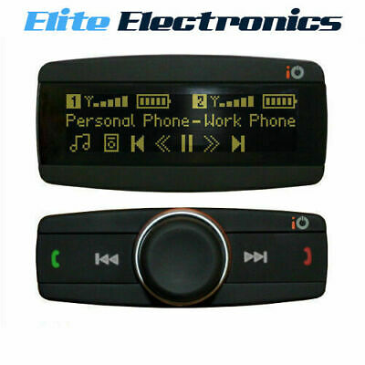 iO PLAY2 BLUETOOTH HANDSFREE KIT CAR MUSIC STREAMING OLED SCREEN IPOD IPHONE