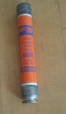 Tested Ferraz Shawmut Amp-Trap 2000 Dual Element Time Delay  A6D30R 30 Amp Fuse