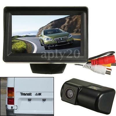 Car 4.3″ Monitor Rear Reversing Reverse Camera For Ford Transit &Transit Connect