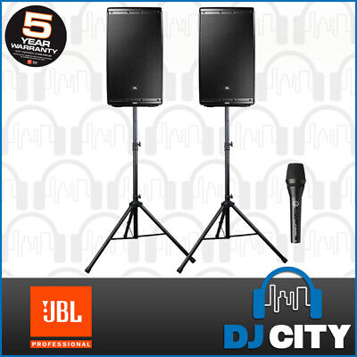 PK-EON612 JBL 12-Inch Active Speaker Pack with Speaker Stands - DJ City Austr...