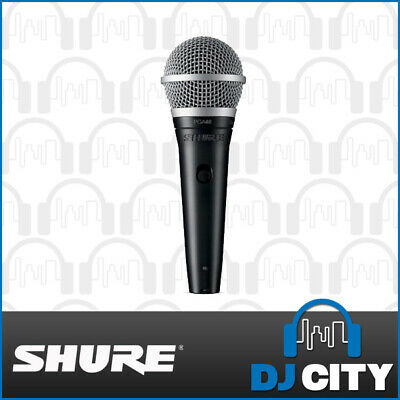 PGA48-XLR Shure Dynamic Vocal Microphone w/ XLR Cable