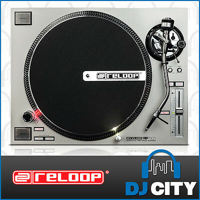 RP-7000SIL Reloop Direct Drive DJ Turntable - Silver Edition - DJ City Australia