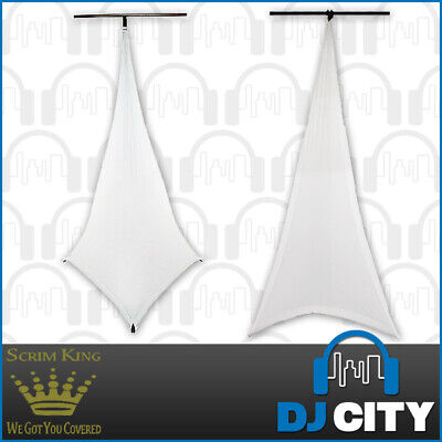 SS-LST03-W Scrim King Triple Sided LS Scrim-White Lighting Stand Cover