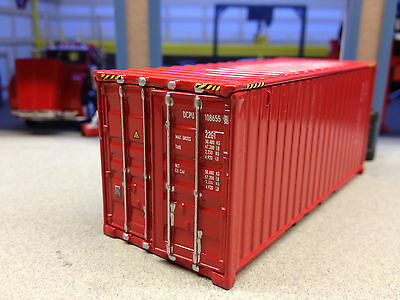 1/64 Dcp Red Container Unit
