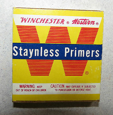 WINCHESTER Western Staynless Primers Vintage Box