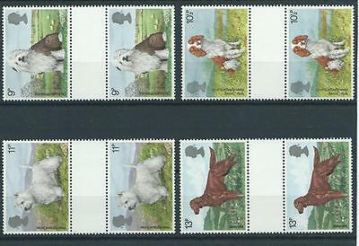 wbc. - GB - COMMEMS - 1979 - DOGS  - GUTTER PAIRS  - UNM. MINT SETS