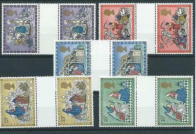 wbc. - GB - COMMEMS - 1979 - CHRISTMAS - GUTTER PAIRS  - UNM. MINT SETS