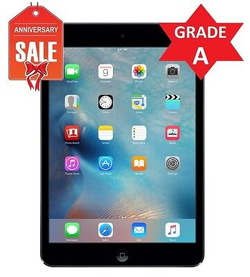 Apple iPad mini 2 128GB, Wi-Fi + 4G AT&T (Unlocked), 7.9in - Space Gray (R)