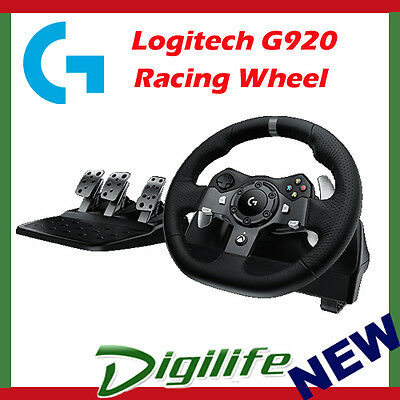 LOGITECH G920 DRIVING FORCE RACING WHEEL for XBOX ONE & PC