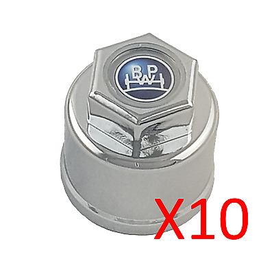BPW Transpec Chrome plated nut covers; cover; pack of 10; Truck; Trailer; Hub