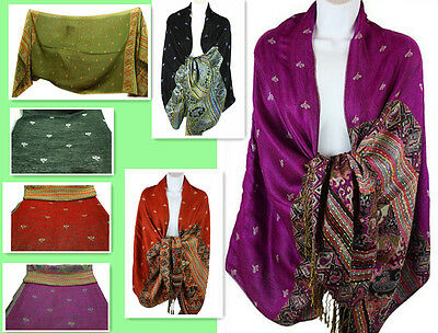 Fall/Winter/Spring Style Exotic Pattern Women Fancy Pashmina Scarf/Shawl #060