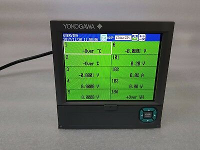 YOKOGAWA 6 Channel  Recorder FX1006-4-2-L SUFFIX / PWR1