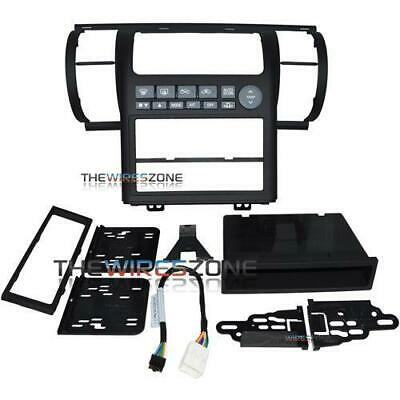 Metra 99-7604B Black Single/Double DIN Stereo Dash Kit for 2003-04 Infiniti G35