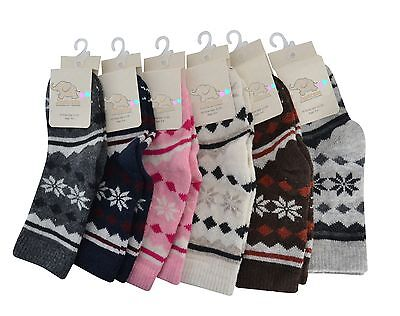 Girls Wool socks kids toddler 1 PAIR Various colours  1-12 Years 65% luxury Wool