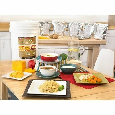 Chef's Banquet All-purpose Readiness Kit 1 Month Food Storage Supply 330 Serving