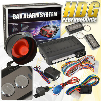 Remote Engine Start Car Alarm Security System Keyless Protection For Toyota