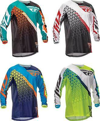 2016 Fly Racing Kinetic Trifecta Jersey - Motocross Dirtbike MX ATV Riding Gear