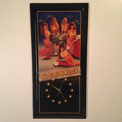 vintage snap on clock / 5 girls / the rare one / man cave