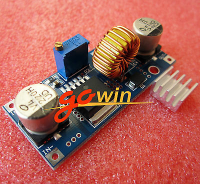 XL4015 DC-DC Step Down Adjustable Power Supply Module LED Lithium Charger 5A