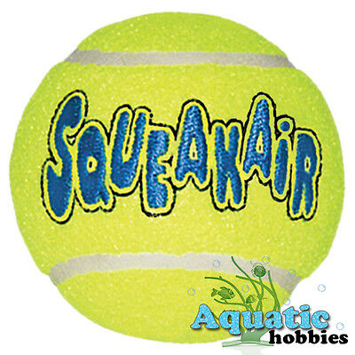 Kong Air Dog Tennis Ball For Dog Puppy Squeaks Toy Fetch Squeaker Choose Size
