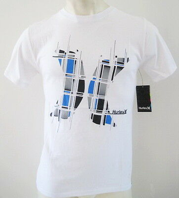 HURLEY PUERTORICON' Mens Premium Top T-shirt Tee Size S M L XL elwood white