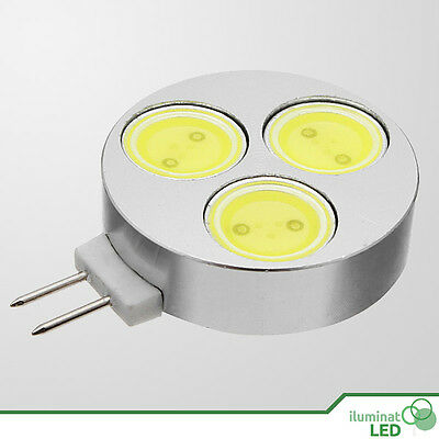 5x led chip 3w 230-250 Lm Blanco puro