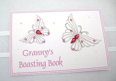 Small Album- Pink Butterfly Granny
