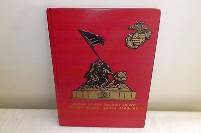 Marine Corps Recruit Depot Book ,Parris Island ,South Carolina platoon1052-1054