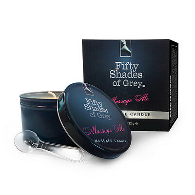 Fifty Shades Of Grey Massage Me Candle - Melts To Body Massage Oil Get It FAST